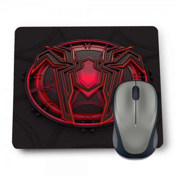SPIDERMAN RED LOGO MOUSE PAD