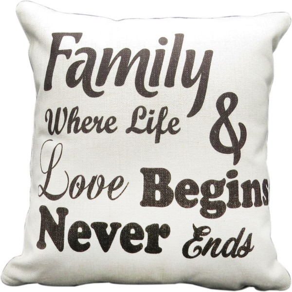 Personalised Linen Cushions
