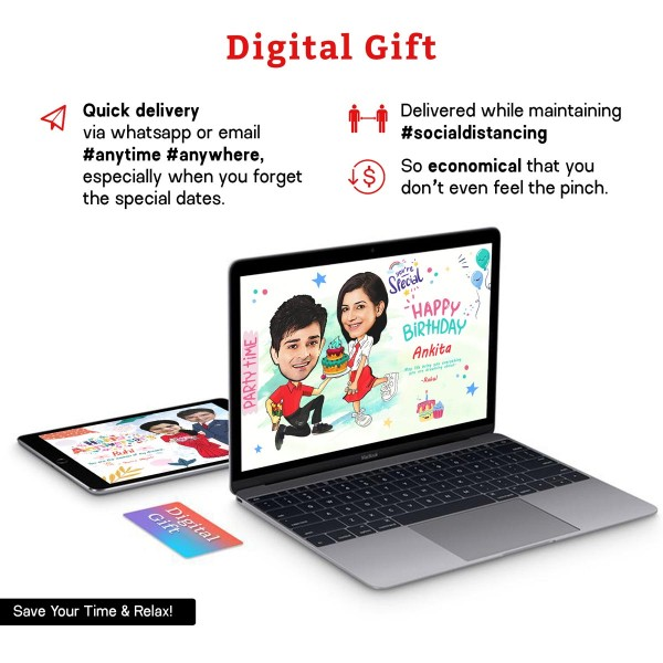 Personalised E-Magazine for Birthday