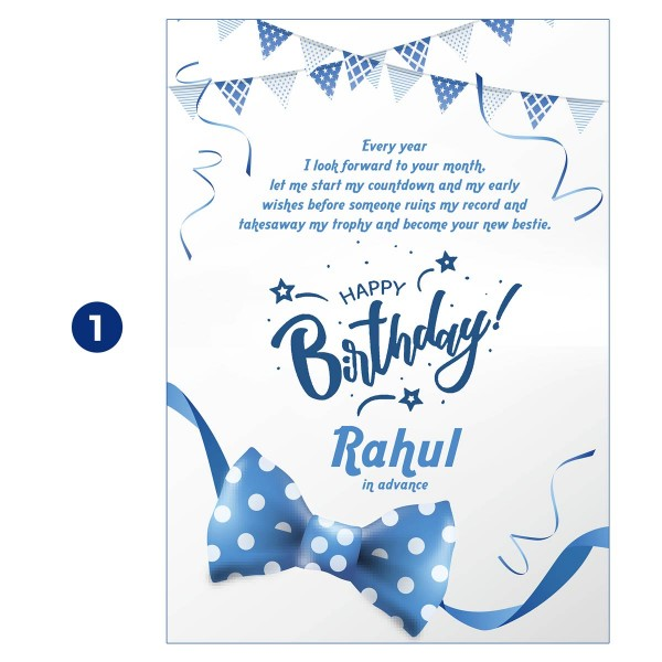 Personalised Birthday Countdown Mails