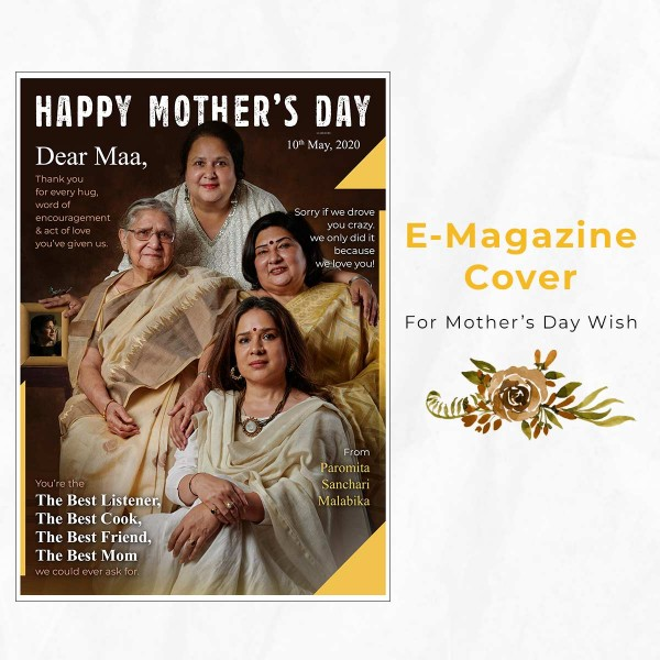 Personalised E-Magazine for Mother's Day