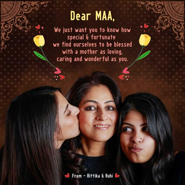 Personalised WhatsApp Wish for Mother's Day