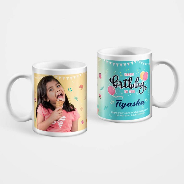 White Custom Printable Mugs