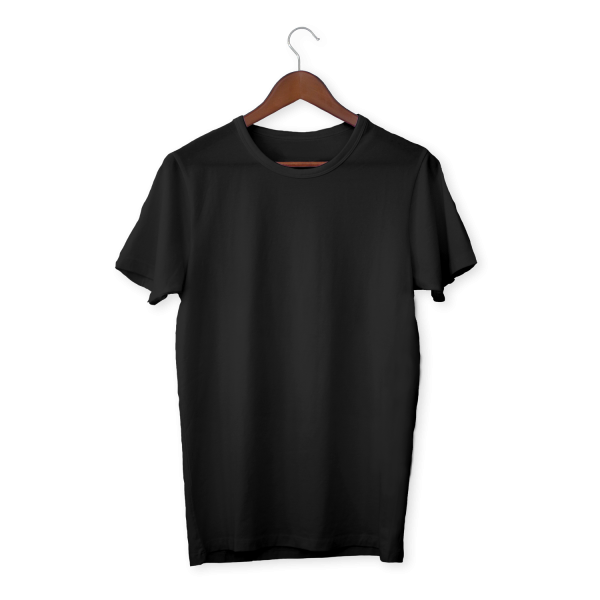 Plain Black T-Shirt..
