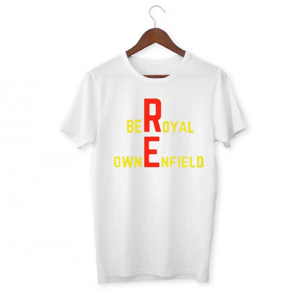 Royal Enfield Unisex Half Sleeve T-Shirt